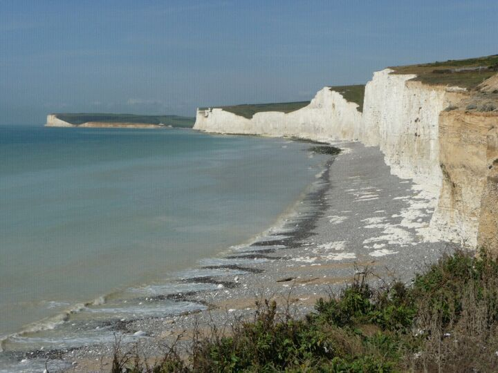 Beachy Head à Eastbourne, East Sussex