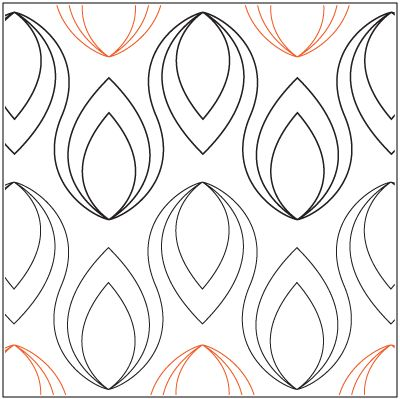 """Bangkok© 2015 Sarah Ann Myers A single row is 7"""" wide – printed with two rows – 144"""" long A flame measures approximately 3.5""""W x 4.8""""H * This design is available in both paper and digital. Please select your preference below. NOTE: All digital designs include the following conversions: CQP, DXF, HQF, IQP, MQR, PAT, QLI, SSD, TXT, WMF and 4QB or PLT. Most designs also include a DWF, GIF and PDF. This pattern was converted by Digitech."""