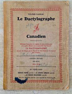 La dactylographie. 1926