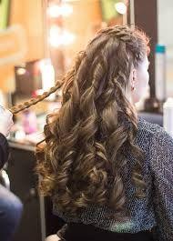 peinados para 15 años con trenzas cascada