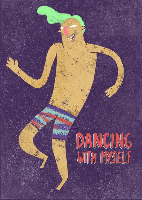 Dancing with myself on Behance