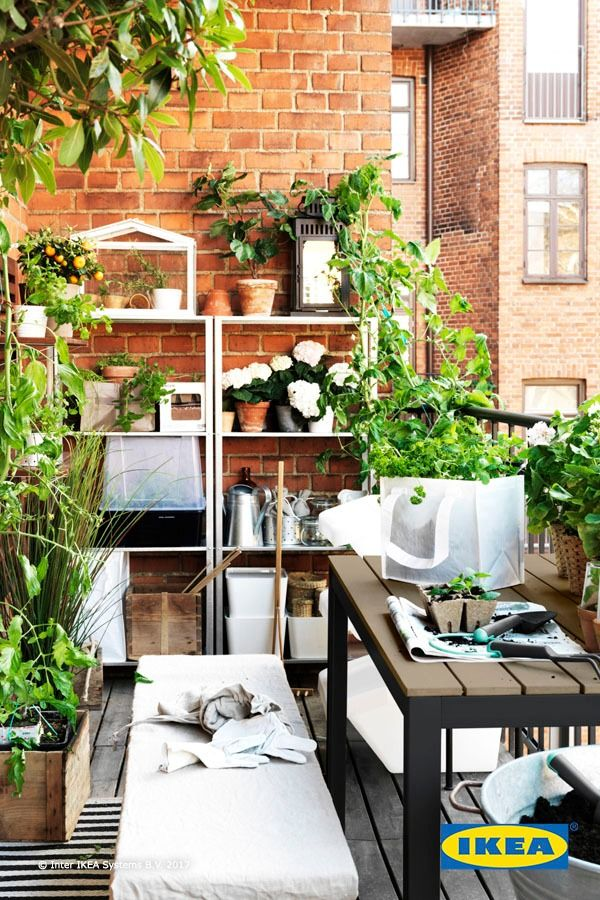 Whether your outdoor space is big or small, you can create your perfect garden with IKEA pots, plants and other gardening accessories. Find more ideas in our Spring Refresh Guide.