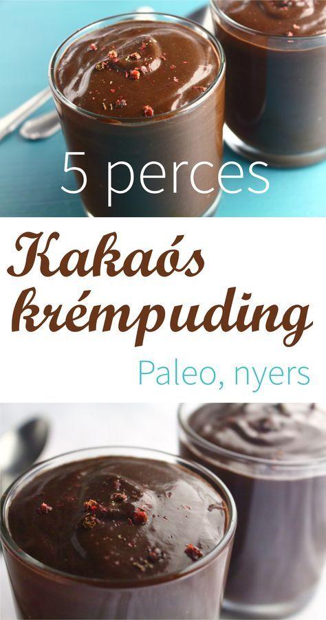 Kakaós krémpuding - Paleo konyha Ha ettetek már finomat... :)
