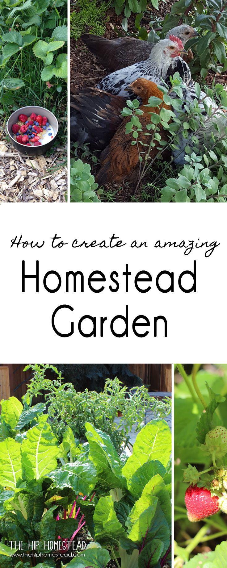 How To Create An Amazing Homestead Garden Homestead 400 x 300