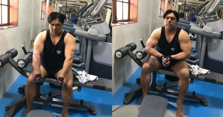 Ram Kapoor shares some pics of him working out in the gym gets trolled