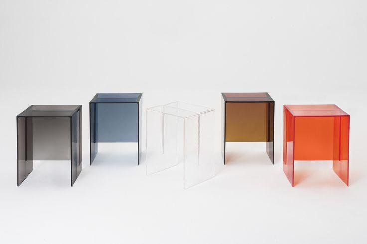 Kartell by Laufen Designer Ludovica+Roberto Palomba MAX-BEAM sgabello e appoggio