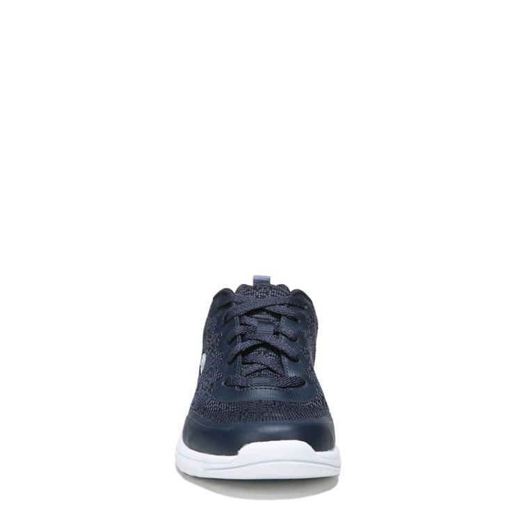 Dr. Scholl's Women's Fastrun Memory Foam Sneakers (Navy Knit Fabric)