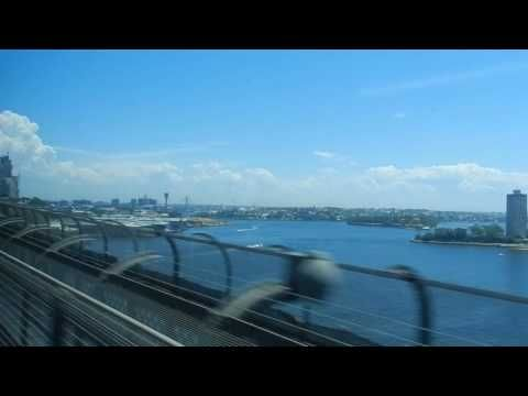 Sydney - Public Transport - Sydney Trains across the Harbour Bridge 2016 01 11 - YouTube