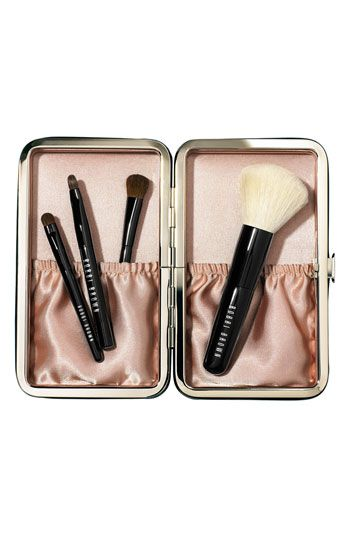Bobbi Brown 'Holiday Gift Giving - Caviar & Oyster' Mini Brush Set | Nordstrom