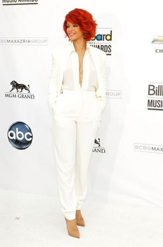 Suit| White on white
