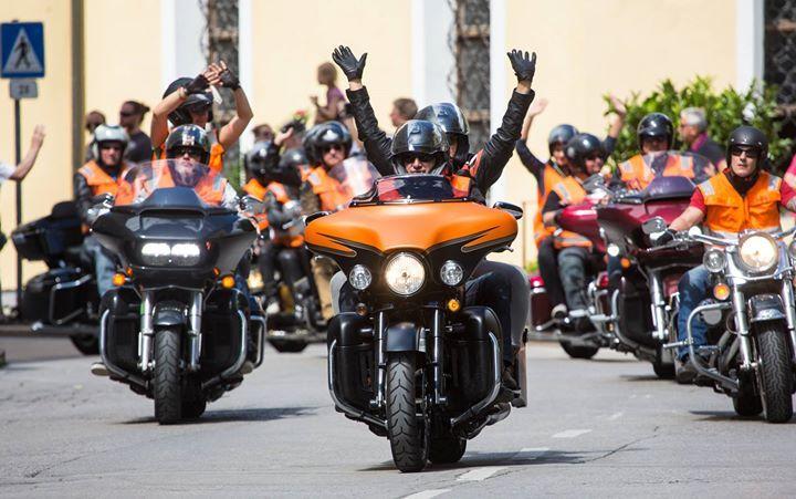 13.08.2017 - Harley Davidson Charity Tour - Lienz http://ift.tt/2vyZKxh #brunnerimages