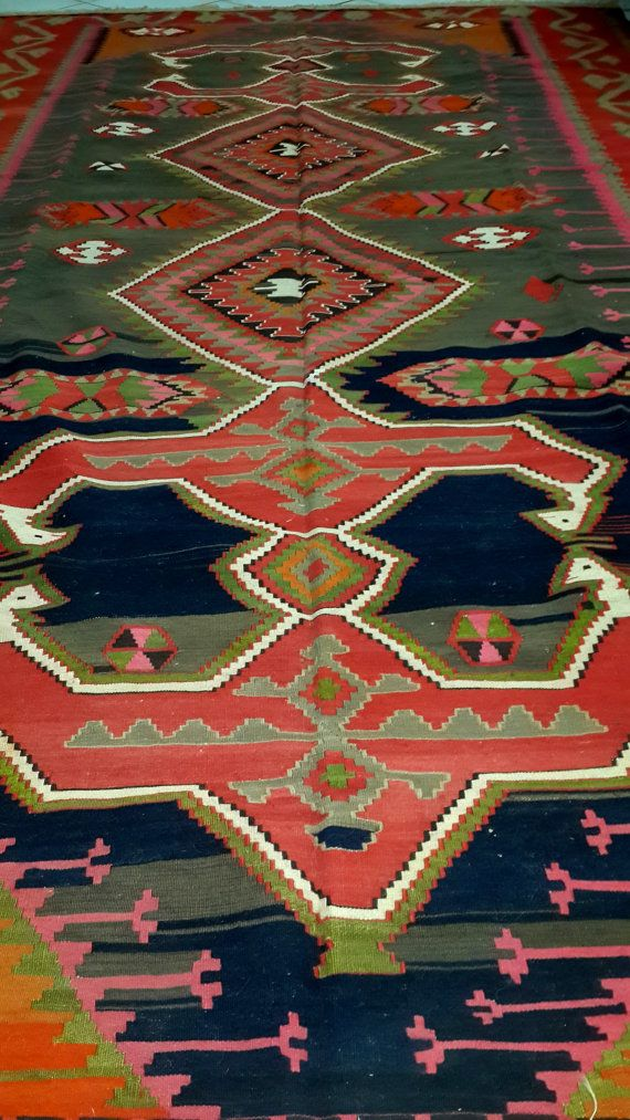 Check out this item in my Etsy shop https://www.etsy.com/listing/211963517/vintage-antique-caucasian-kilims-rugs
