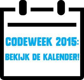 Van 10 tot en met 17 oktober 2015! De kickoff is in NEMO Amsterdam