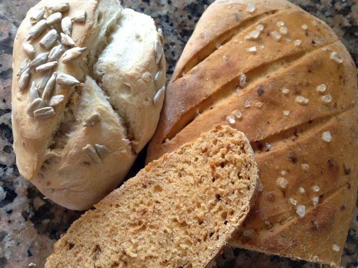 Pan rápido con Thermomix- tomates secos y hierbas aromáticas