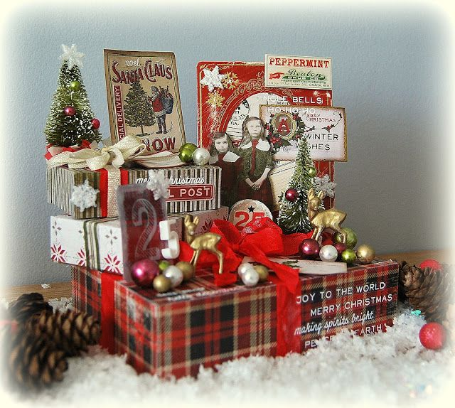 Kath's Blog......diary of the everyday life of a crafter: Tim Holtz Holiday Inspiration Series...Special Del...