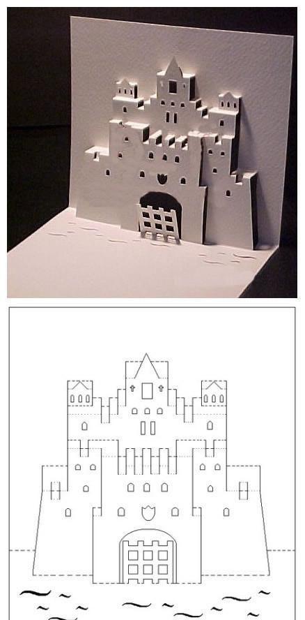 kirigami castle