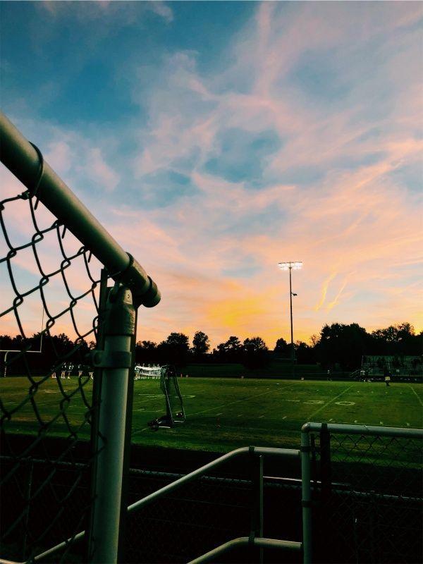 Vsco Csg Sunset Football Game Clouds Sunset Football Footballgame Clouds Soccer Pictures Soccer Season Soccer Backgrounds