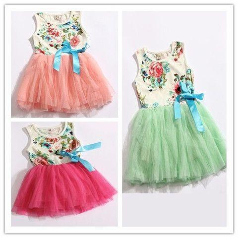 Vintaged Inspired Flower Girl Dress- Floral Tutu Dress - Loved by Chloe