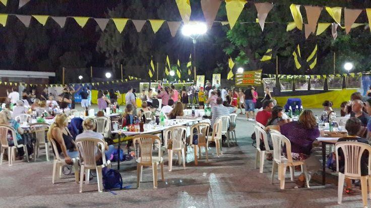 El pasado sábado 7 de diciembre se realizó la fiesta de Baby junto a Futsal.  Se dispusieron largas mesas y sillas donde las familias compartieron la cena en un ambiente de gran alegría. Asistieron más de 200 personas.