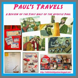 Bible Fun For Kids: Paul Travels (First Half of Acts Review)