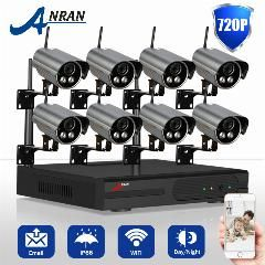[ $72 OFF ] Plug And Play 720P Ip Camera Wifi Hd Outdoor Cctv 2 Array Ir Night Vison Security Wireless Surveillance System 8Ch Nvr 2Tb Hdd