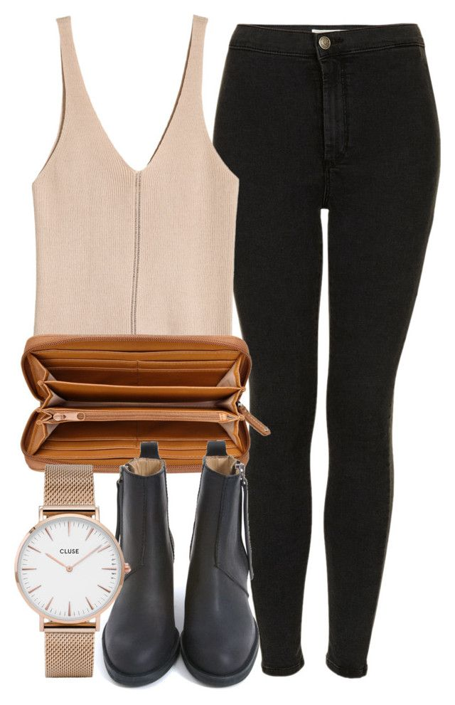 Untitled #6753 by laurenmboot on Polyvore featuring polyvore, fashion, style, Topshop, Acne Studios, Nine West, CLUSE and clothing