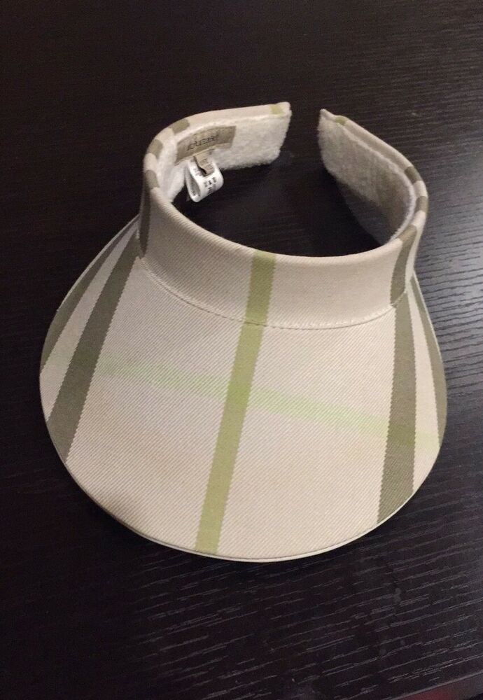 527b30bdd47 Burberry Golf Pink Nova Check Ladies Sun Visor Cap Hat- EUC  Burberry  Visor