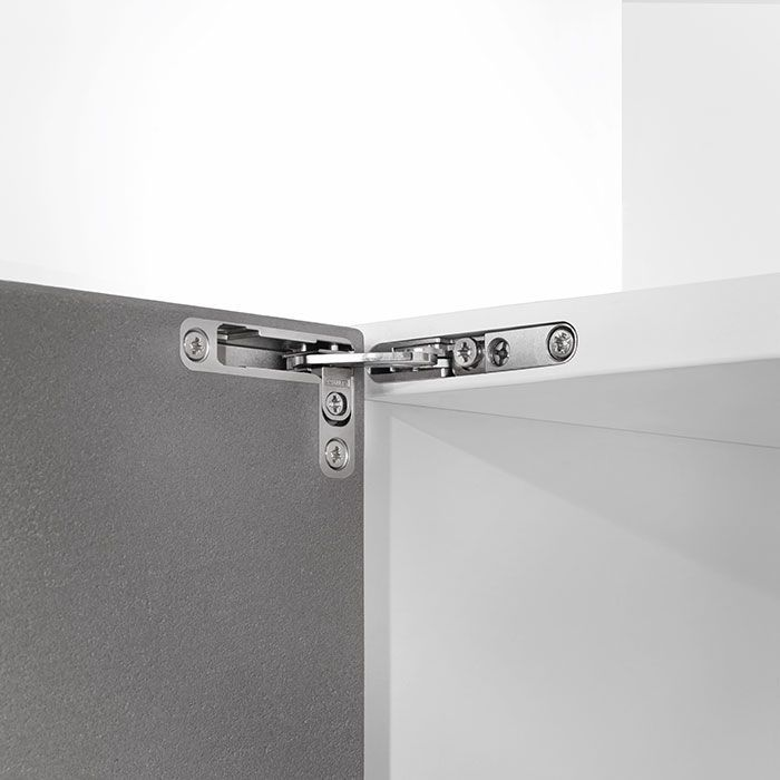 Innovative Air Hinge By Italian Manufacturer Salice Brings Completely New Level Onto The Market With Integrated S In 2020 Hinges Metal Cups Types Of Hinges