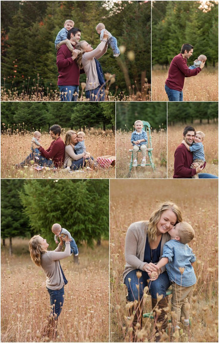 Fall family photos & poses  Family of 4 cute family photos mother and son, mommy & me http://Www.salemoregonweddingphotography.com Salem, Oregon photographer