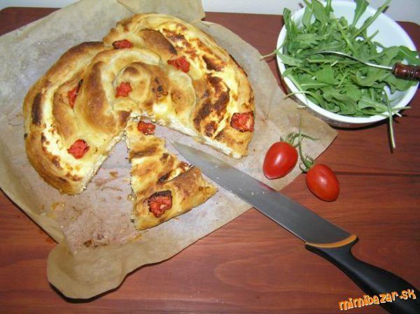 Balkánsky koláč s rukolovým šalátom ♥ ♥ ♥