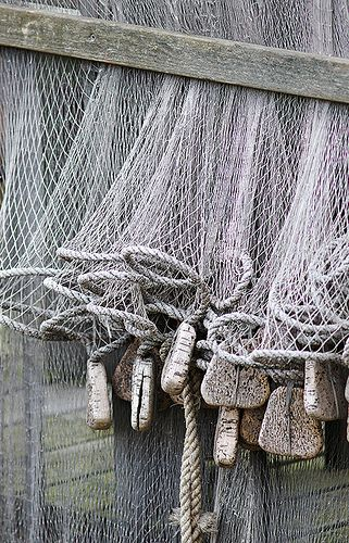 Nets are used by District 4 for fishing, but also by Finnick Odair in the Arena during the 65th Hunger Games.