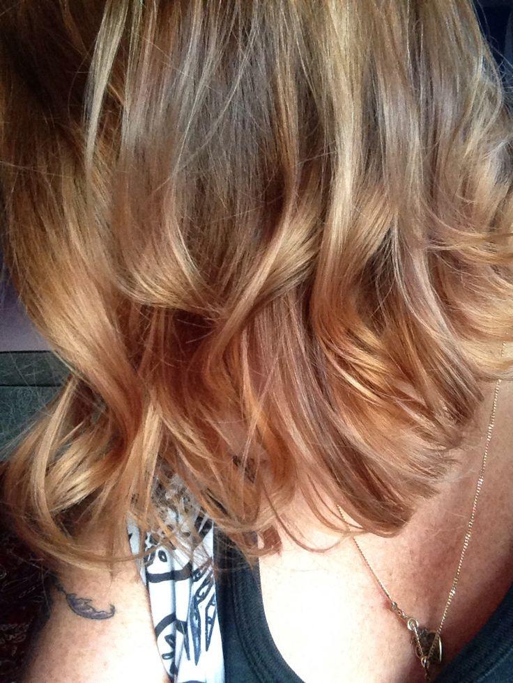 New look, blonde balayage.
