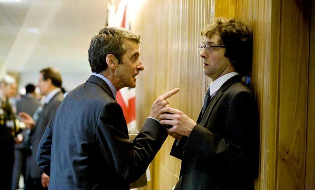 The Thick of It's Chris Addison to reunite with Peter Capaldi in Doctor Who finale