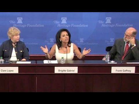 """Brigitte Gabriel's Epic and Brilliant Answer To """"Most Muslims Are Peaceful..."""" - YouTube"""