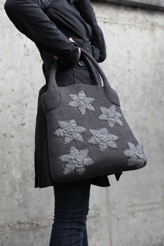 cool felted bag