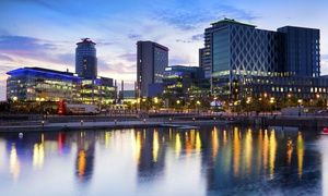 Groupon - Manchester: 1 or 2 Nights For Two With Breakfast, Pizza and Beer from £49 at Britannia Hotel Manchester in Manchester. Groupon deal price: £49