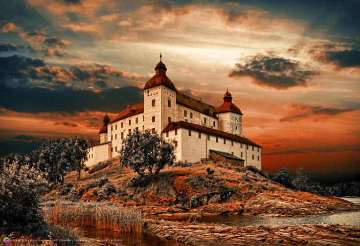 Läckö Castle, Sweden by Peter From on 500px