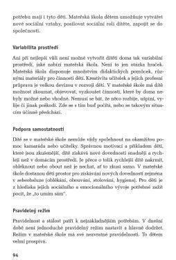 Recenze: Vzdělávání dětí od dvou let v MŠ | VašeDěti.cz