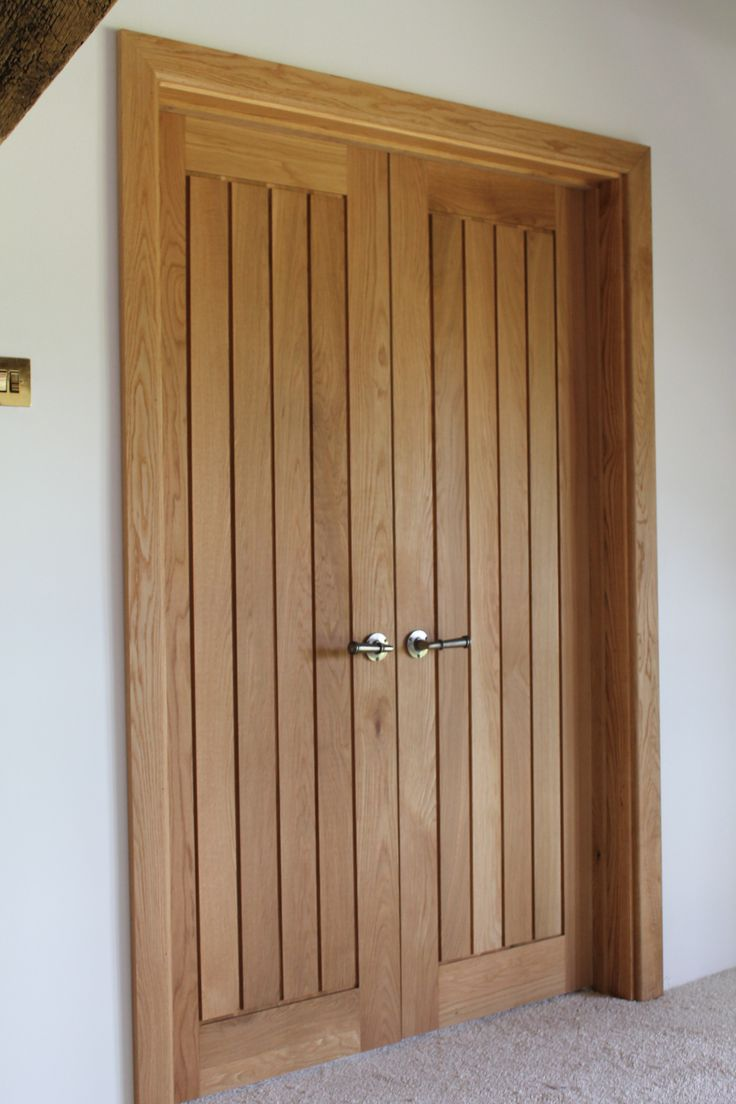 White interior doors with oak trim - Mexicano Oak Door Double Doors Mexicana Solid Oak Mexicano Door Http