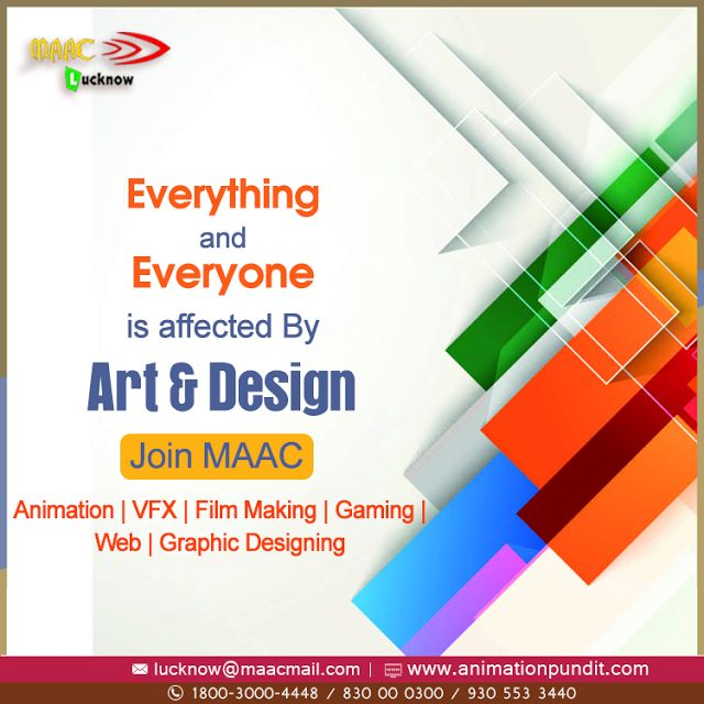Maac Animation Lucknow: Animation Institute Lucknow #Maac #Animation #Institute #Lucknow offers #AnimationPrograms, designed to fast track you for a career in entertainment, fashion, design, or video games. http://maacanimationlucknow.blogspot.in/2017/08/animation-institute-lucknow.html #AnimationInstituteLucknow, #AnimationCoursesLucknow