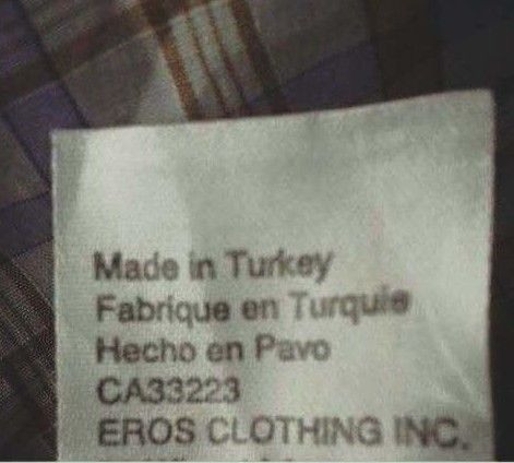 This item that was apparently made inside a living, breathing turkey: | 16 Horrible Crimes Committed Against The Spanish Language