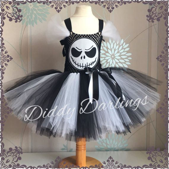 Jack Skellington Tutu Dress - From Disney The Nightmare Before Christmas  Stand…