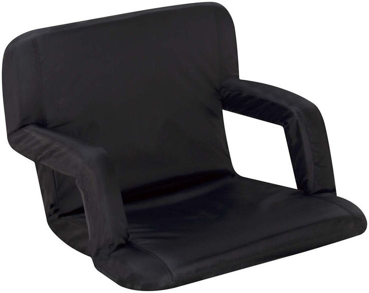 Portable Stadium Seat Recliner Padded Chair Folding Cushion Bleacher Football #Naomi