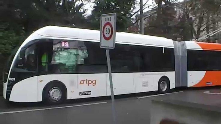Trolleybus VanHool Exqui.City #Electric #Bus #GreenMobility