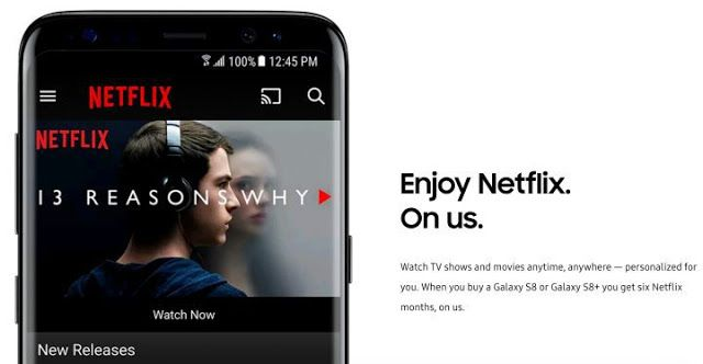 Download Netflix Movies App for Samsung Galaxy S7 Edge / S8