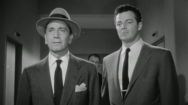 Richard Conte, Cornel Wilde The Big Combo (1955)