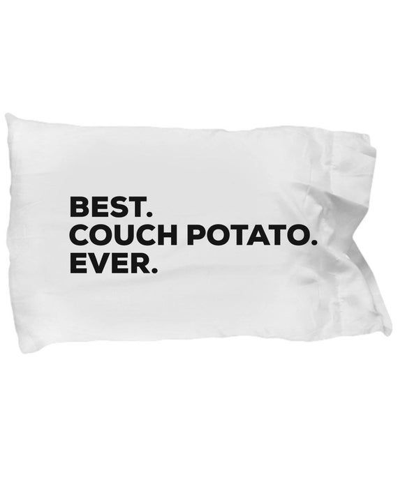 Couch Potato Pillow Case Gifts For Couch Potato Best Couch Potato Ever Pillow Cases Cool Couches Pillows