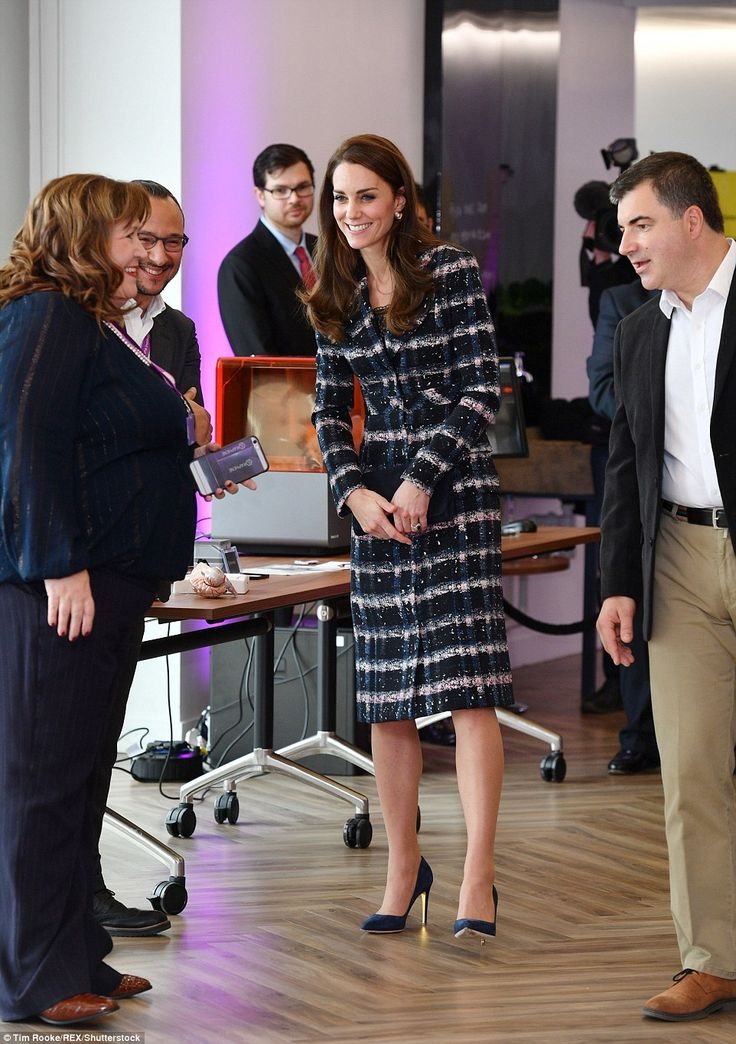 Kate arrives at the National Graphene Institute at the University of Manchester, a world-leading research facility.