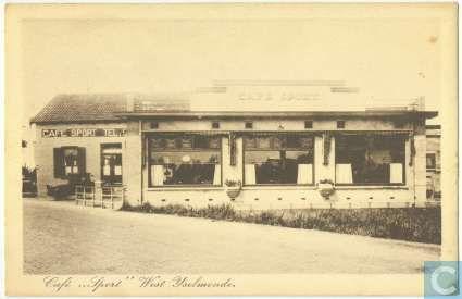 Rotterdam - West IJsselmonde, café 'Sport'.