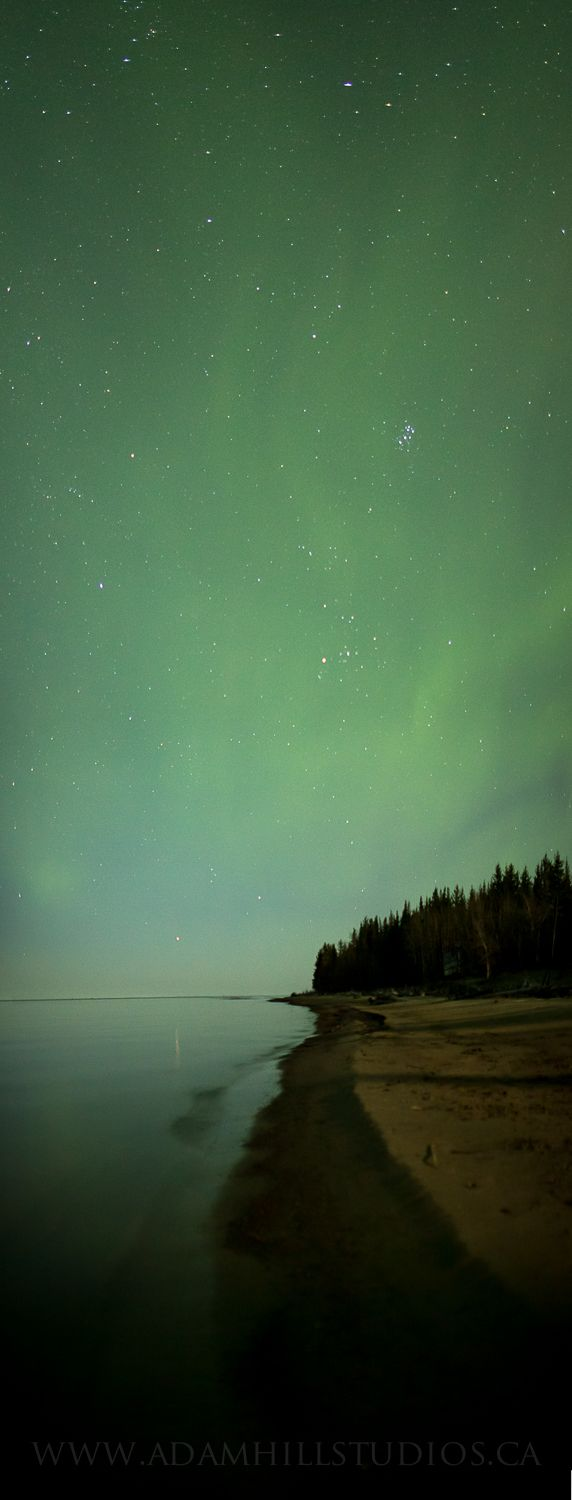 On the Shore of the Great Slave Lake, Northwest Territories, Canada